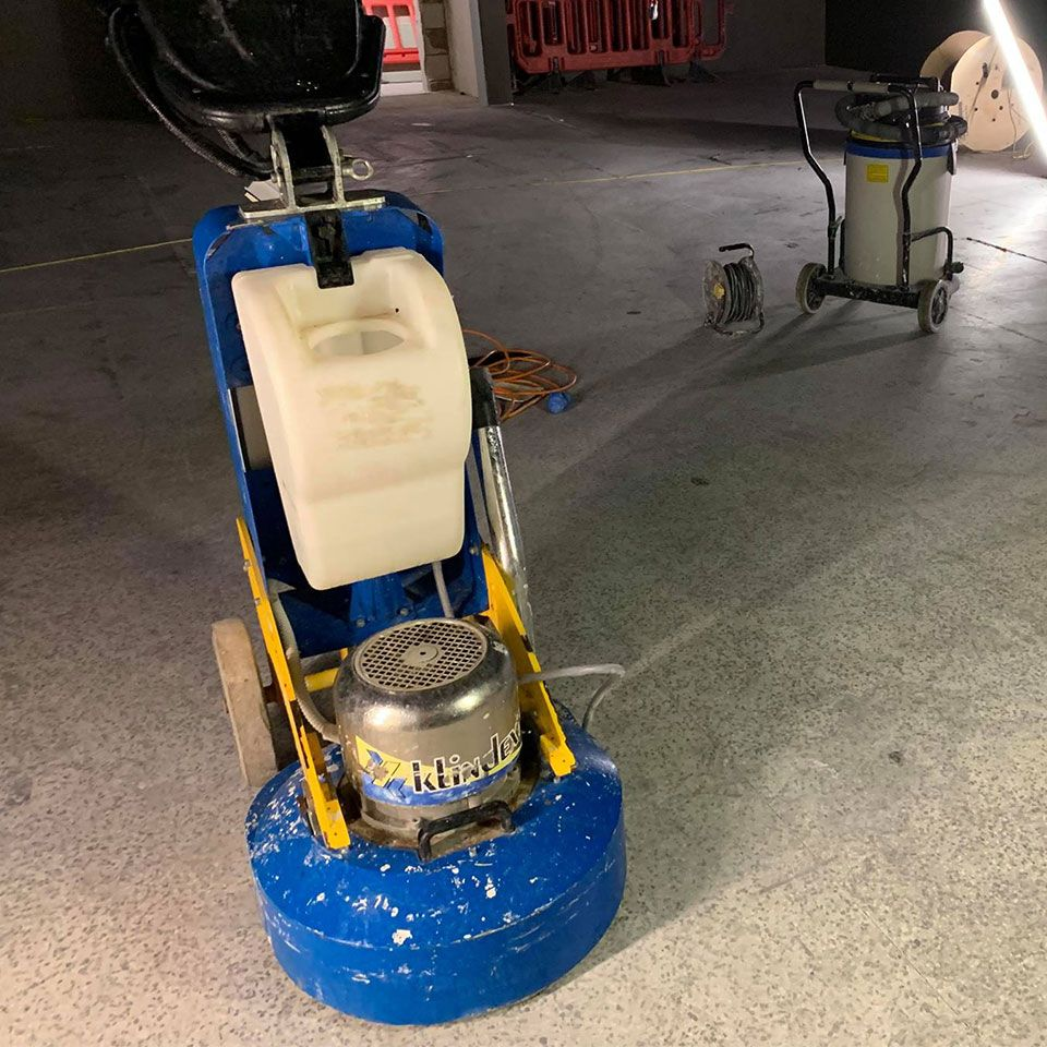 How to restore an old concrete floor