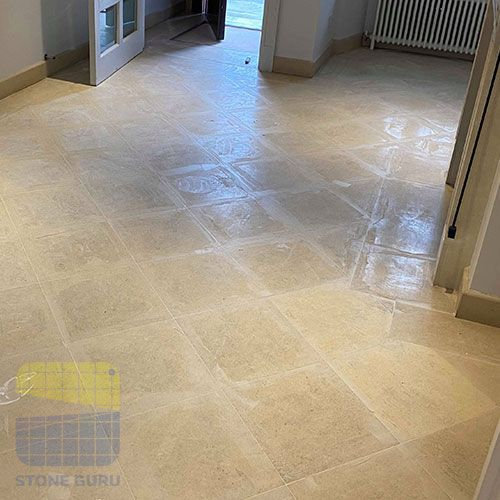 Limestone Floor cleaning client requirments